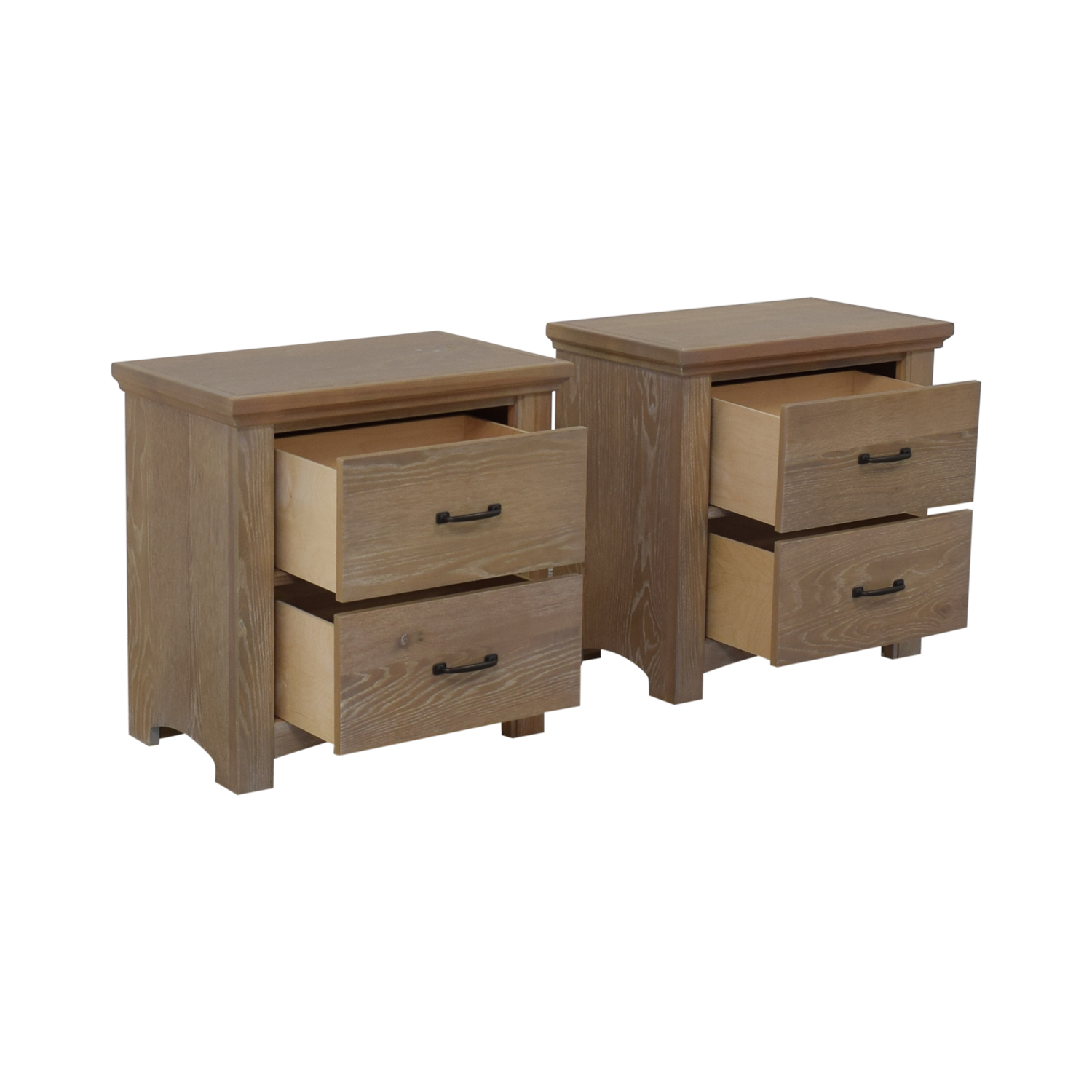 buy Vaughan-Bassett Vaughan-Basset Transitions Two Drawer Nightstands online