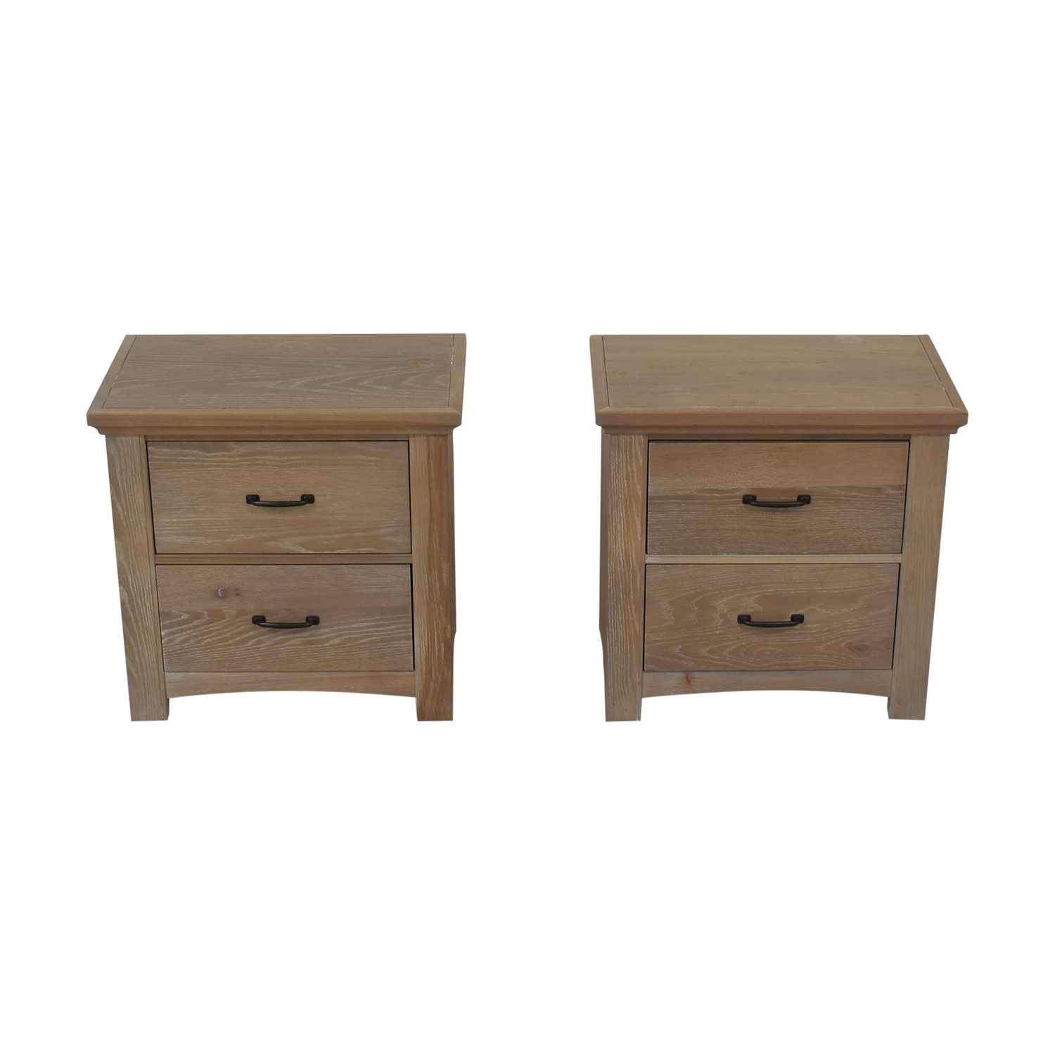 buy Vaughan-Basset Transitions Two Drawer Nightstands Vaughan-Bassett Tables