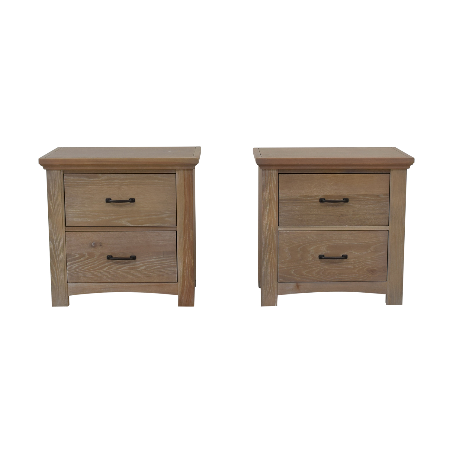 Vaughan-Bassett Vaughan-Basset Transitions Two Drawer Nightstands nj