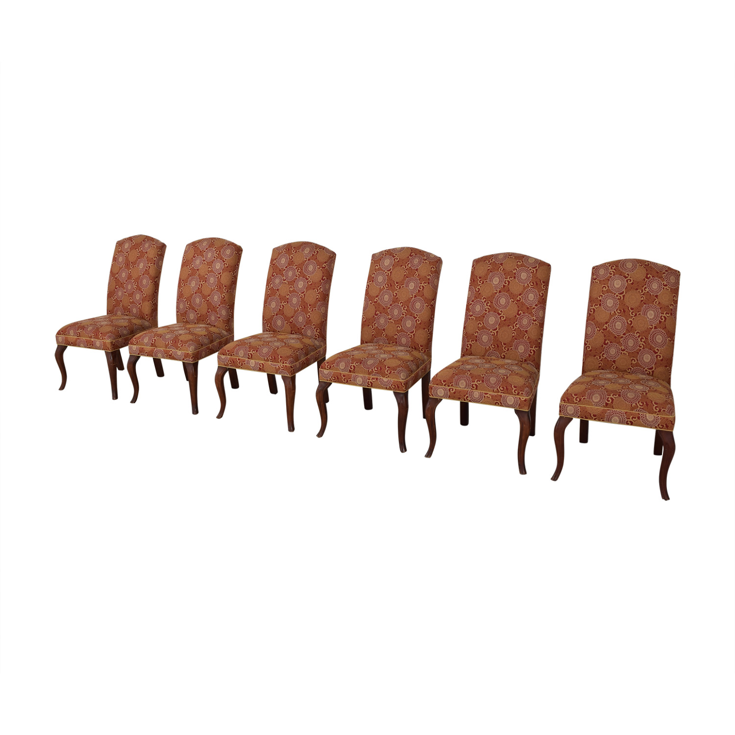 Ethan Allen Fabric Side Chairs Ethan Allen