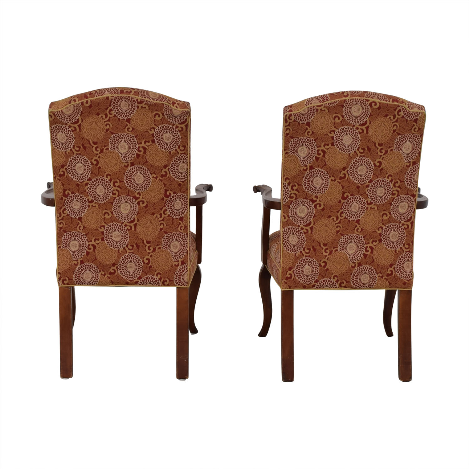 Ethan Allen Ethan Allen Patterned Armchairs discount