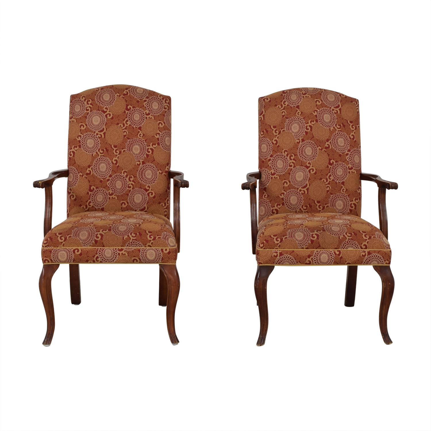 Ethan Allen Ethan Allen Patterned Armchairs on sale