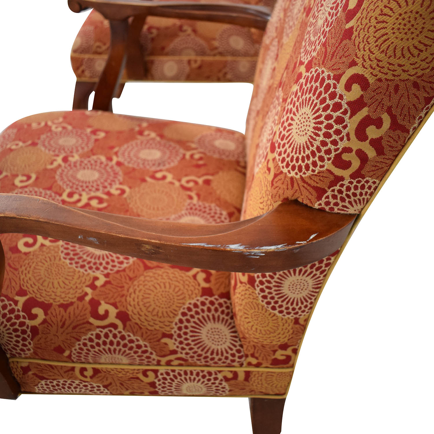buy Ethan Allen Patterned Armchairs Ethan Allen Chairs
