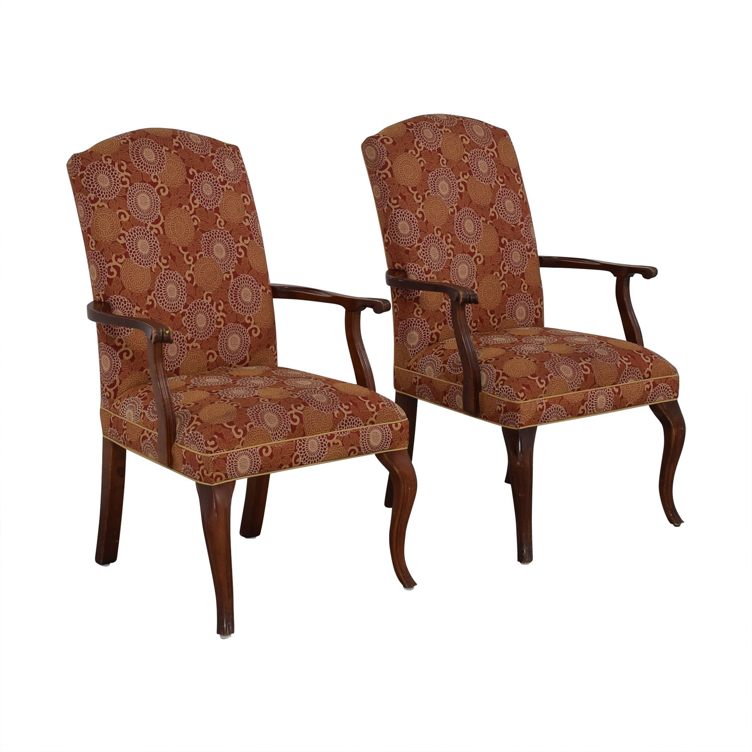 shop Ethan Allen Patterned Armchairs Ethan Allen Chairs