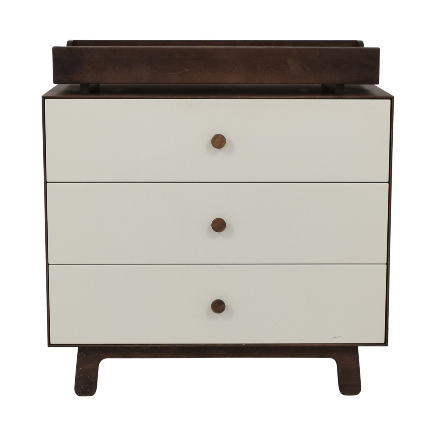 Oeuf Sparrow Three Drawer Dresser with Changing Top Oeuf