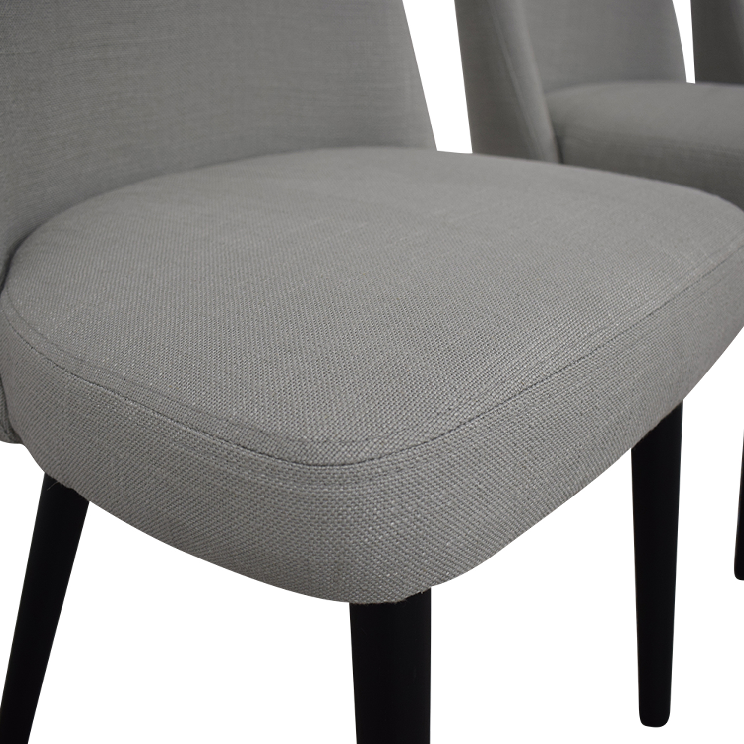 Interior Define Dylan Grey Dining Chairs gray