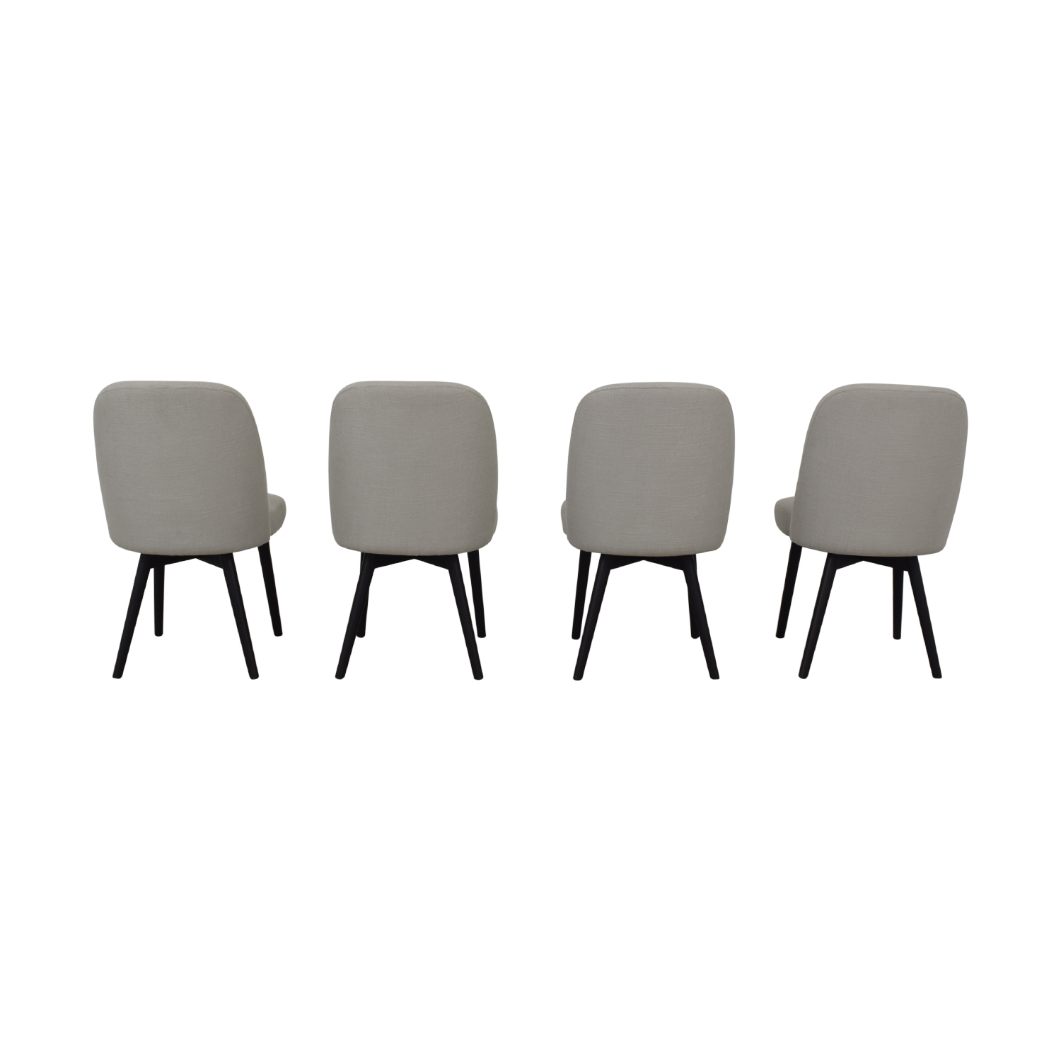 Interior Define Dylan Grey Dining Chairs nyc