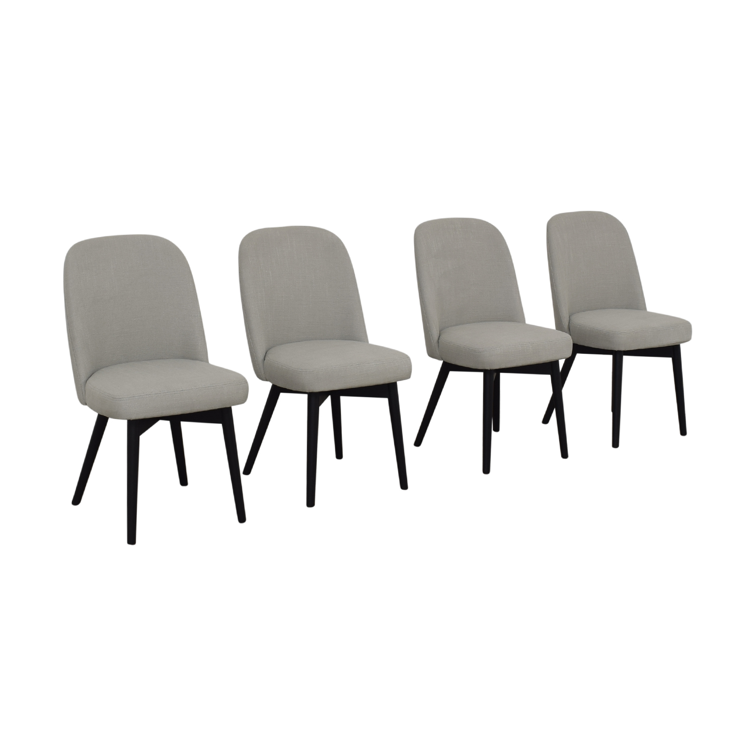 Interior Define Dylan Grey Dining Chairs