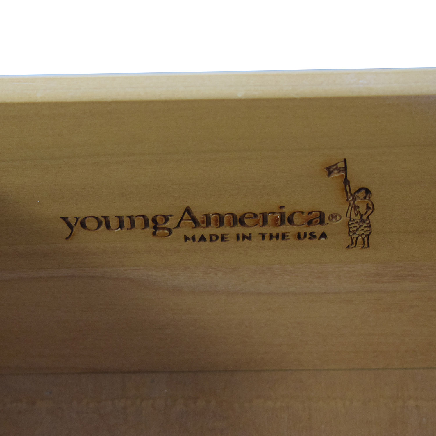 shop Stanley Furniture Young America White Three-Drawer Nightstand Stanley Furniture