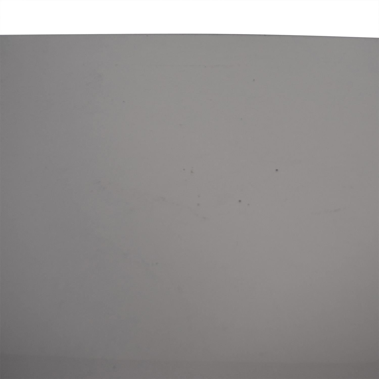 White Two-Drawer Desk price