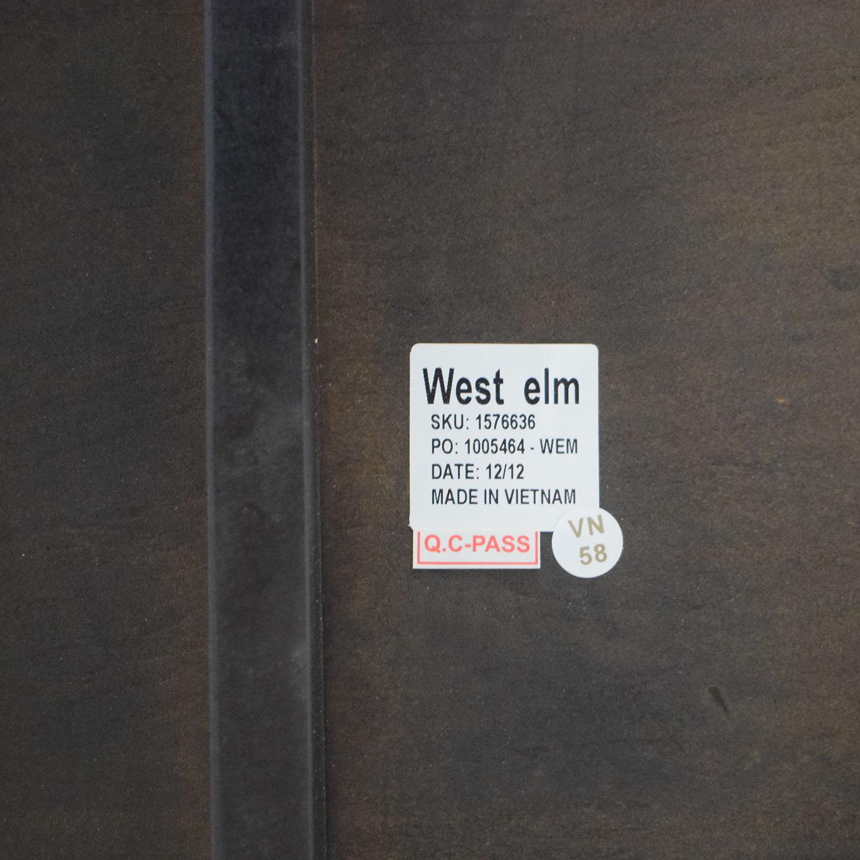 West Elm West Elm 2 x 2 Console Modern Desk Home Office Desks