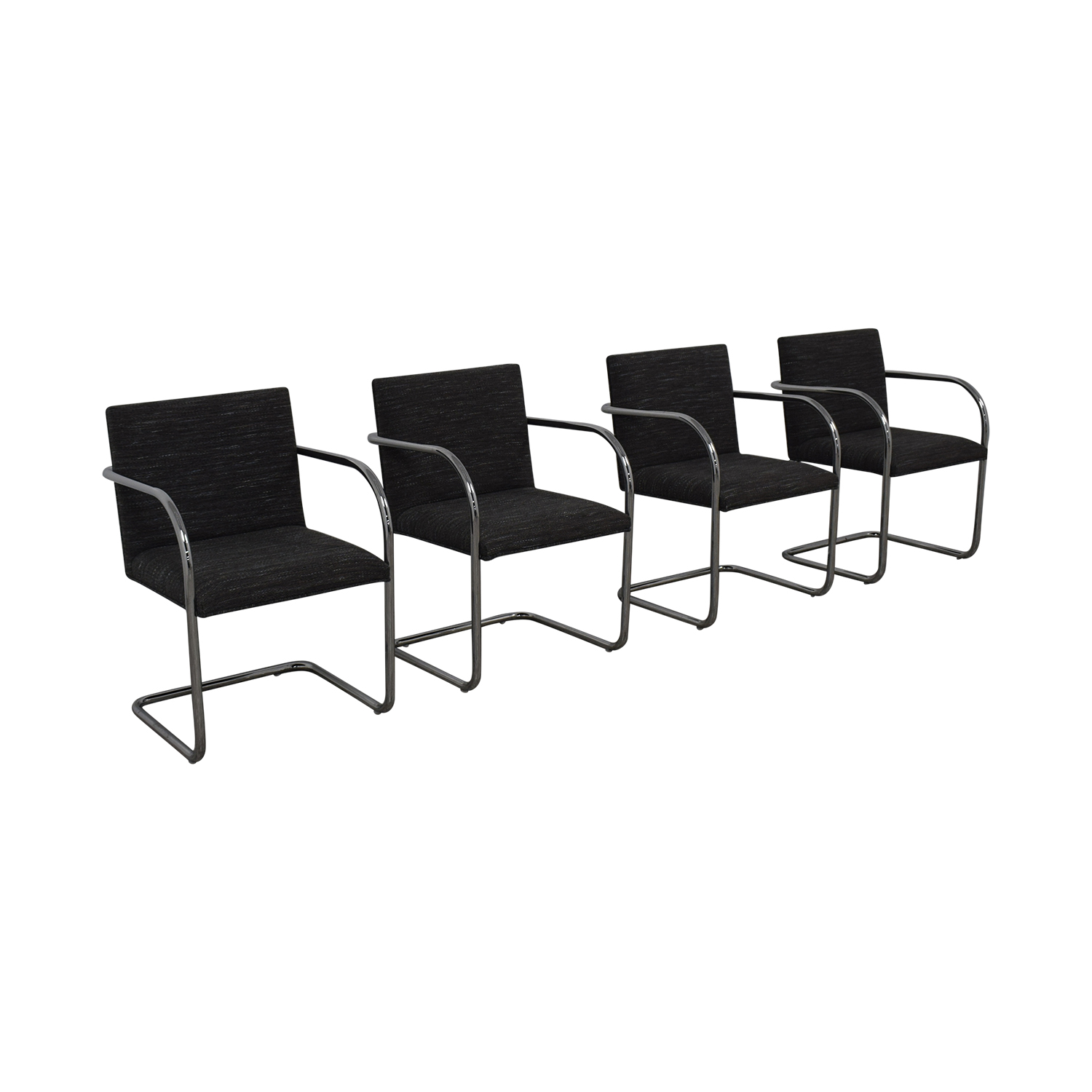 Chrome Upholstered Office Chairs discount