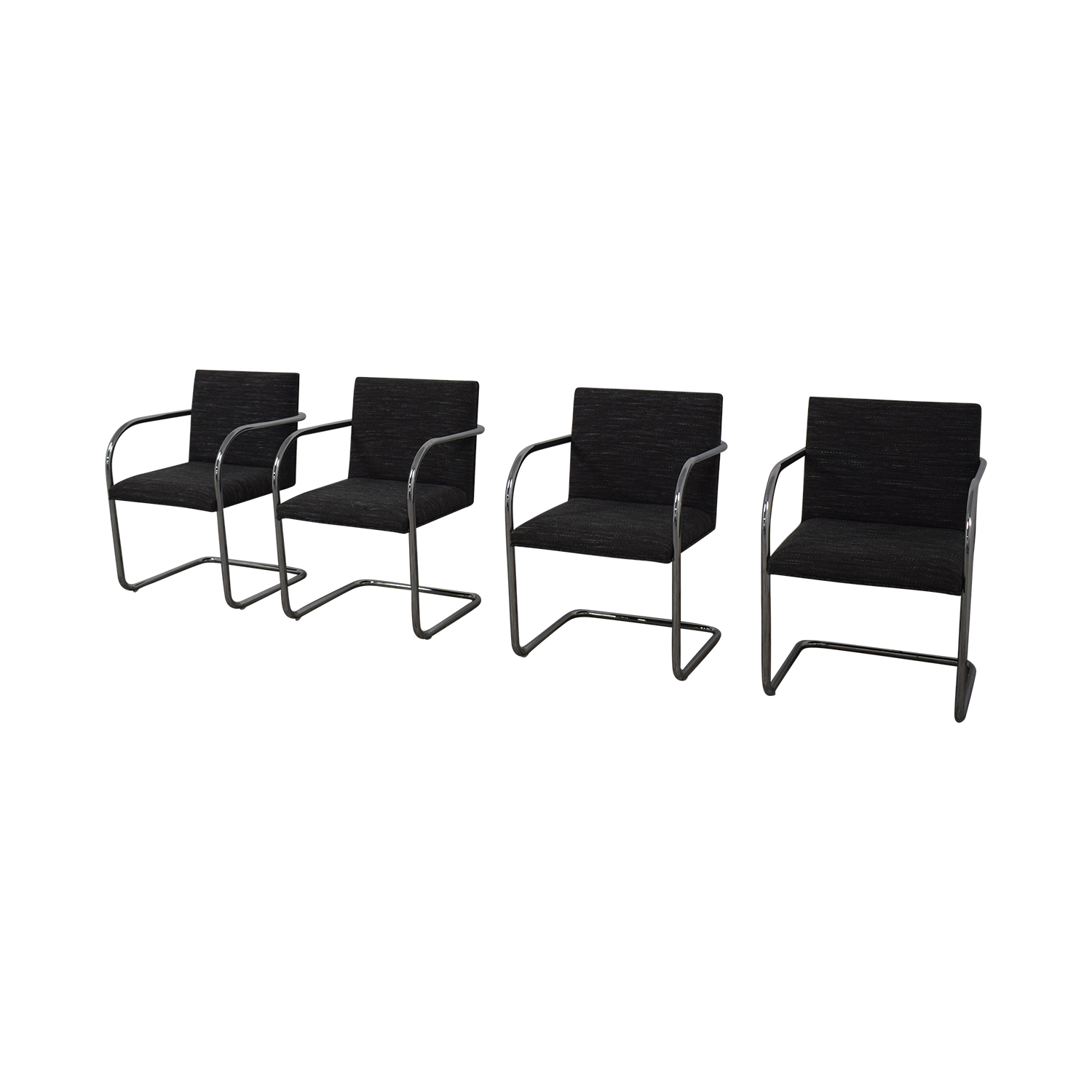 Chrome Upholstered Office Chairs on sale