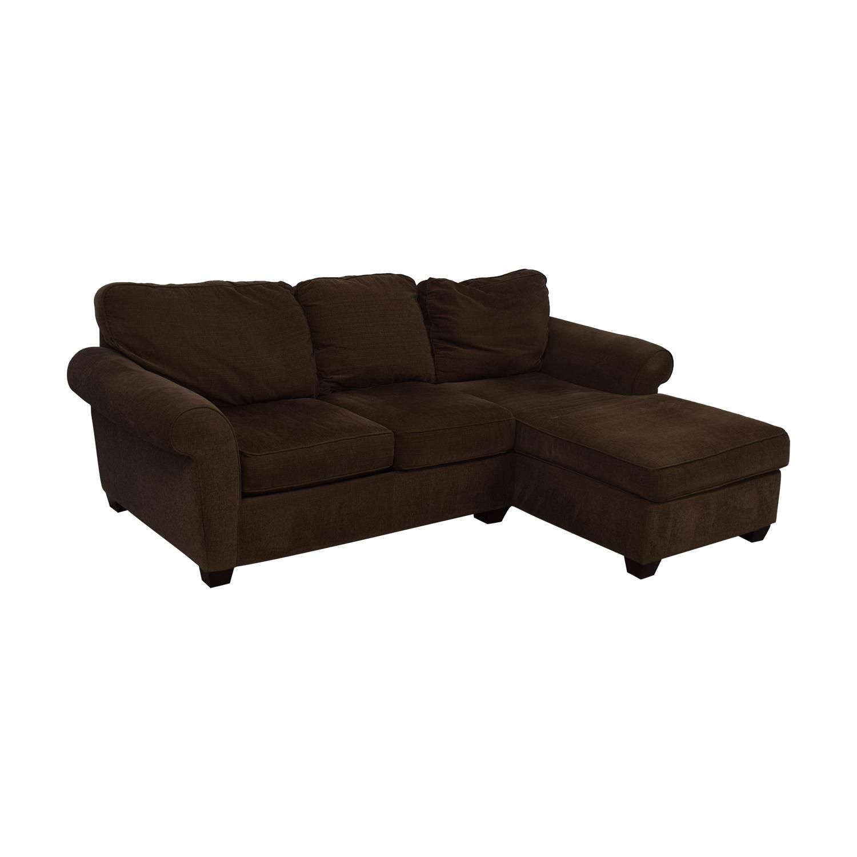 Bauhaus Furniture Bauhaus Furniture Brown Sofa With Chaise used