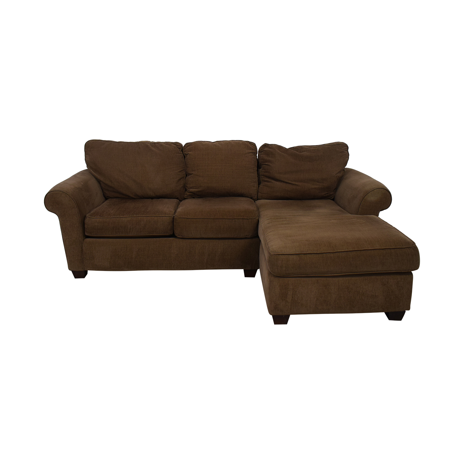 shop Bauhaus Furniture Bauhaus Furniture Brown Sofa With Chaise online