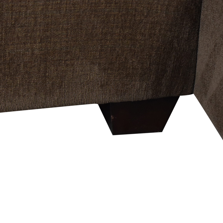 Bauhaus Furniture Brown Sofa With Chaise Bauhaus Furniture