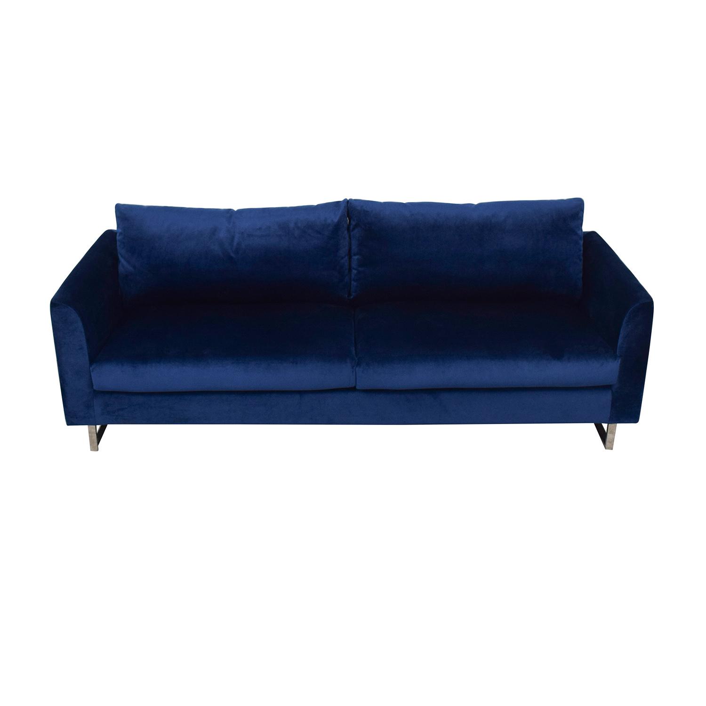 Owens Blue Sofa / Classic Sofas