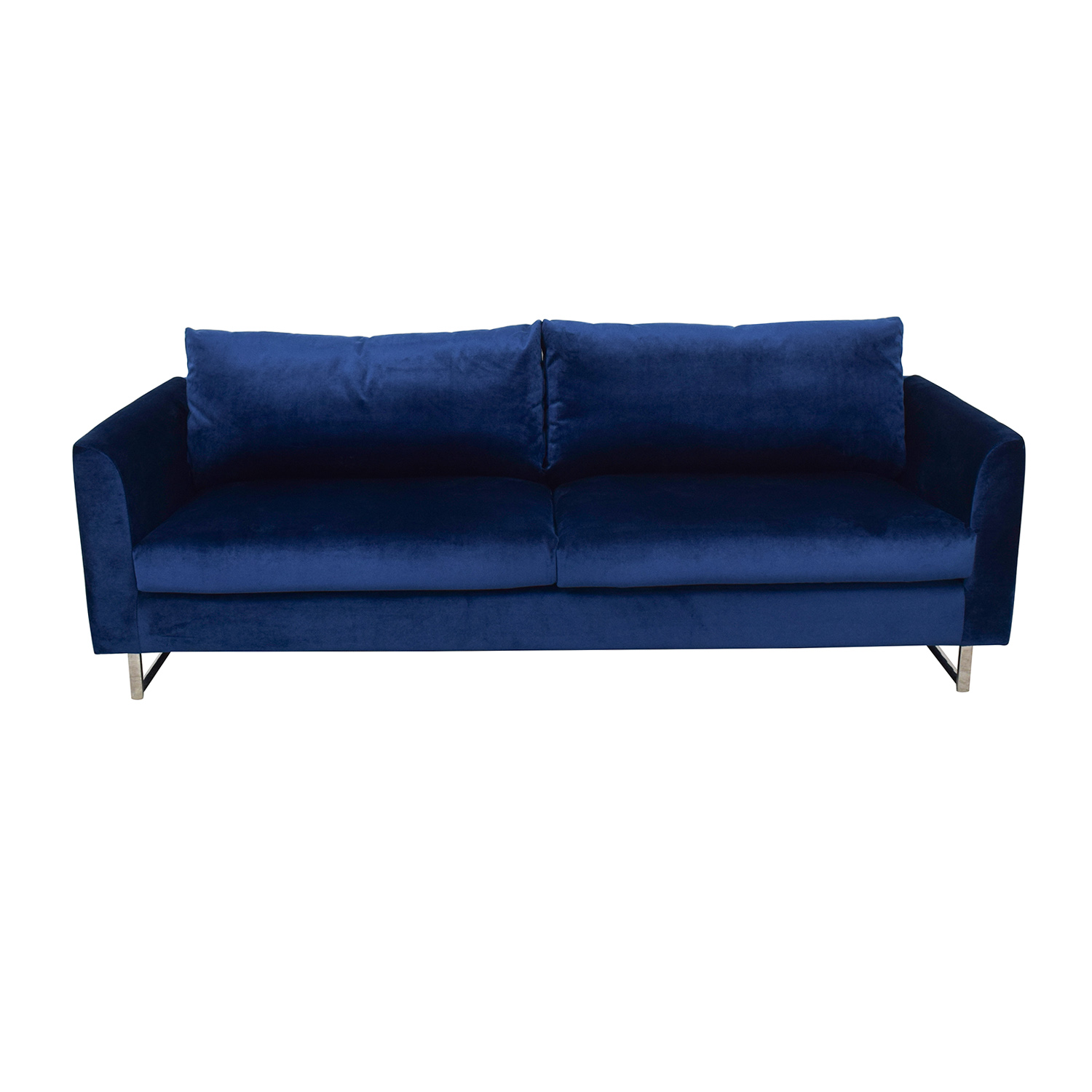 buy Owens Blue Sofa Interior Define