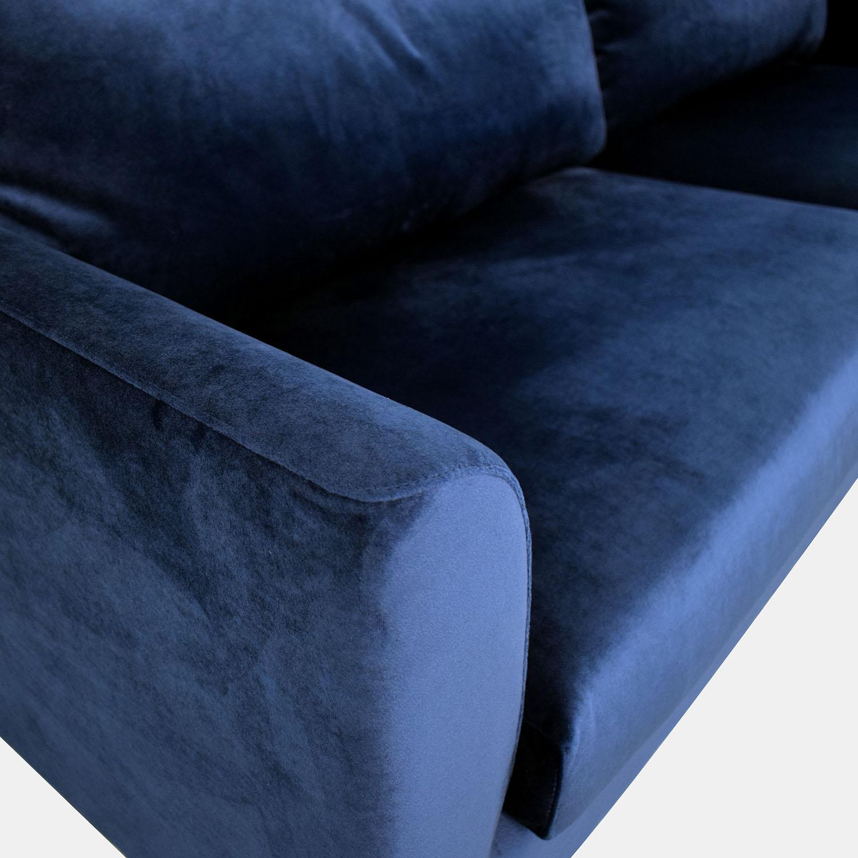 shop Owens Blue Sofa Interior Define