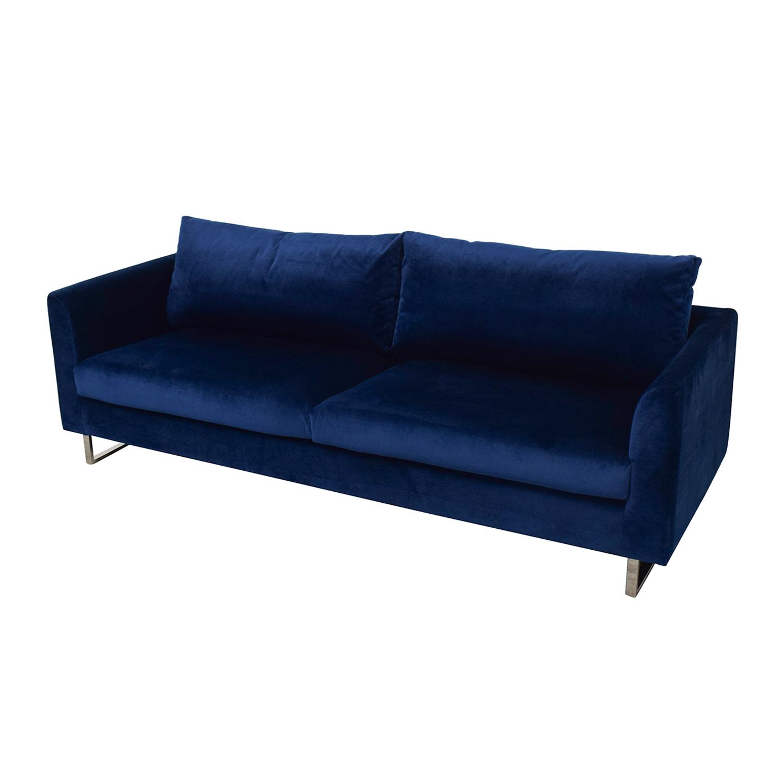 shop Owens Blue Sofa Interior Define Sofas