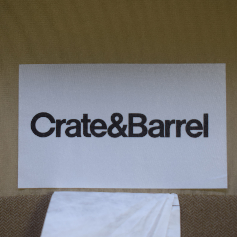 Crate & Barrel Left Chaise Sofa sale