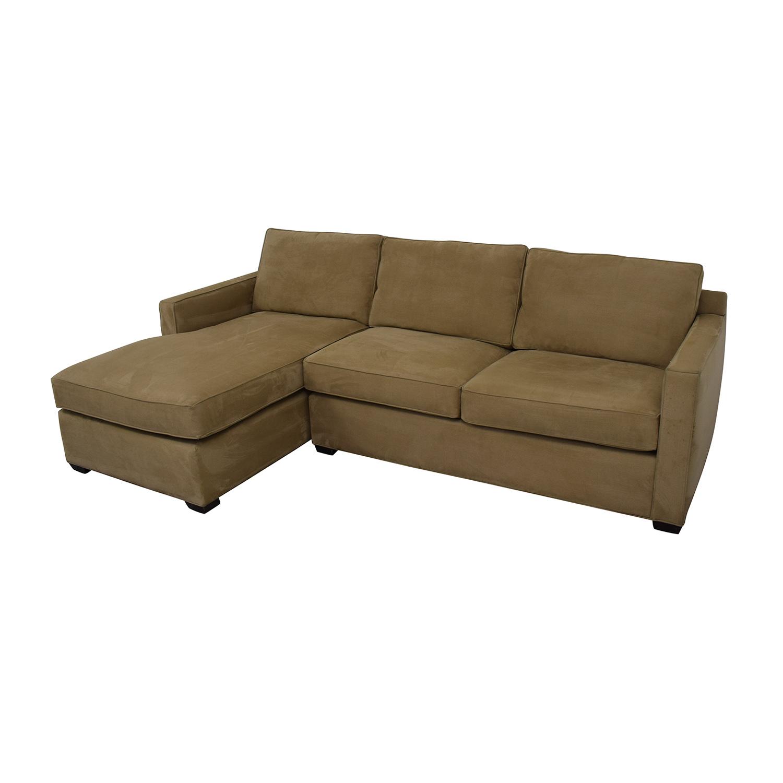 Crate & Barrel Crate & Barrel Left Chaise Sofa nyc