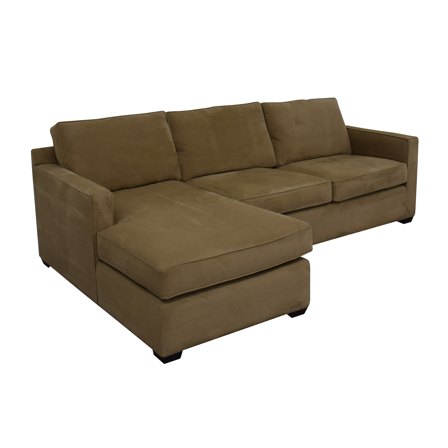 Crate & Barrel Crate & Barrel Left Chaise Sofa used