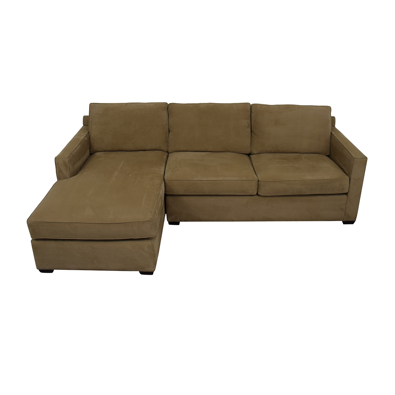Crate & Barrel Left Chaise Sofa / Sectionals