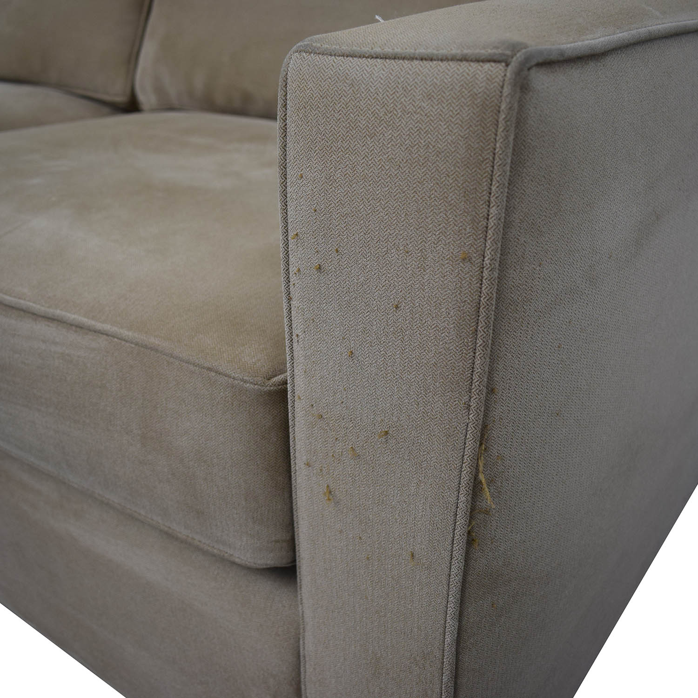 buy Crate & Barrel Crate & Barrel Left Chaise Sofa online