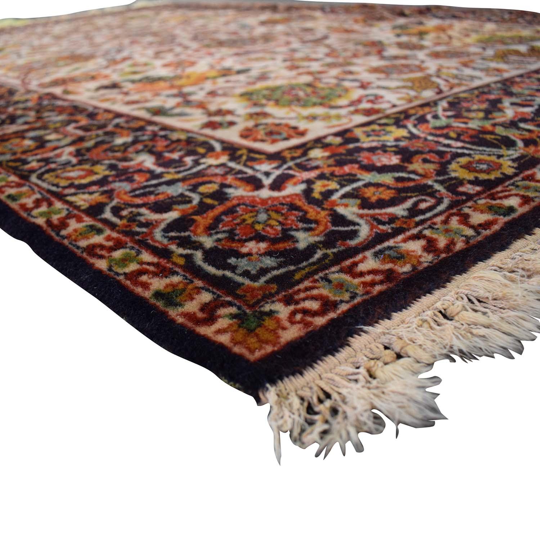 buy Floral Oriental Rug  Decor