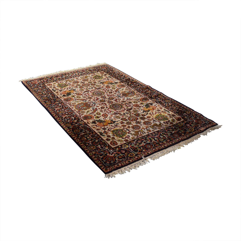 Floral Oriental Rug discount