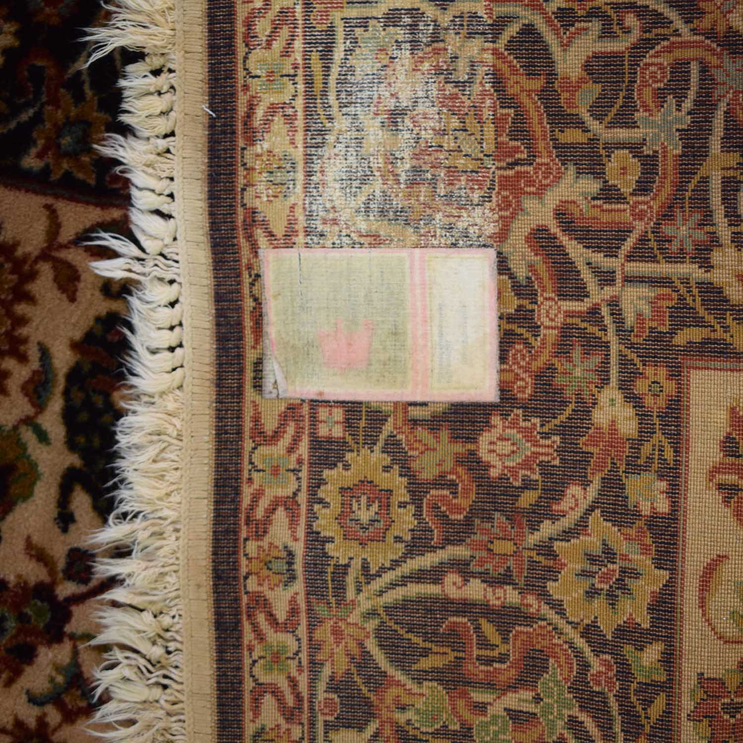 Floral Oriental Rug second hand