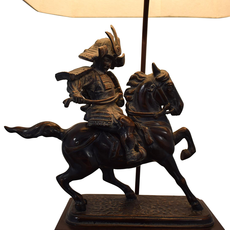 Samarai Warrior Decorative Table Lamp for sale