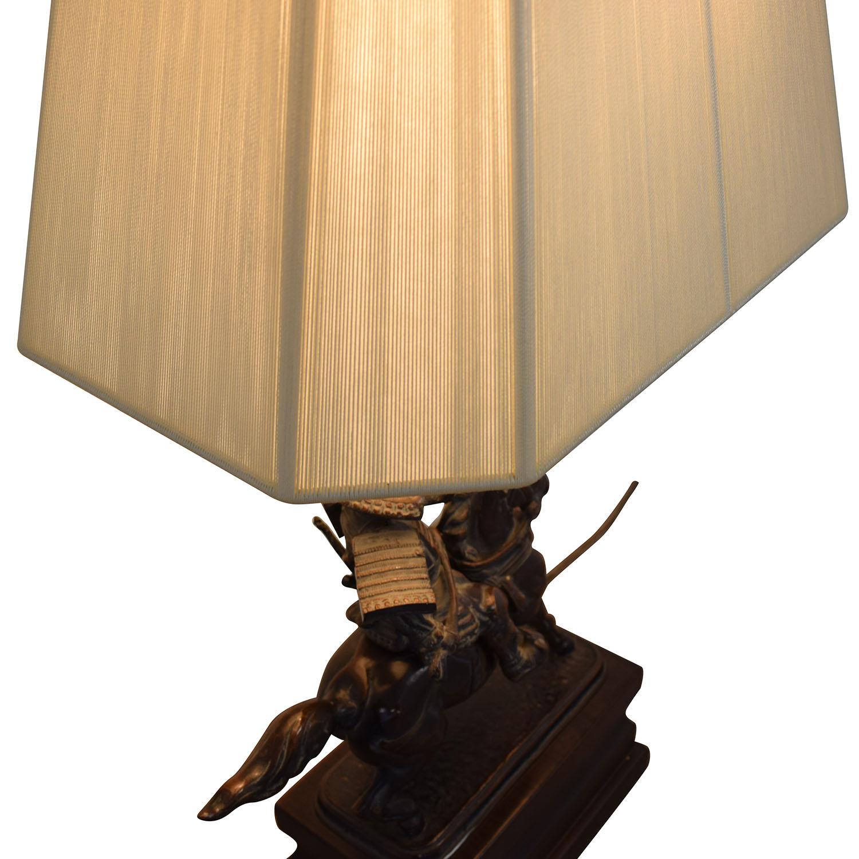 buy  Samarai Warrior Decorative Table Lamp online