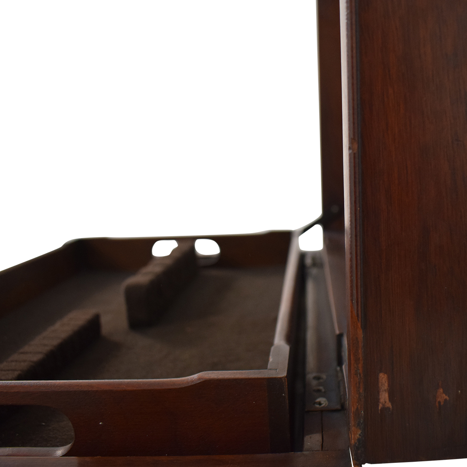 Henkel Harris Mahogany Silver Chest on Stand / Tables
