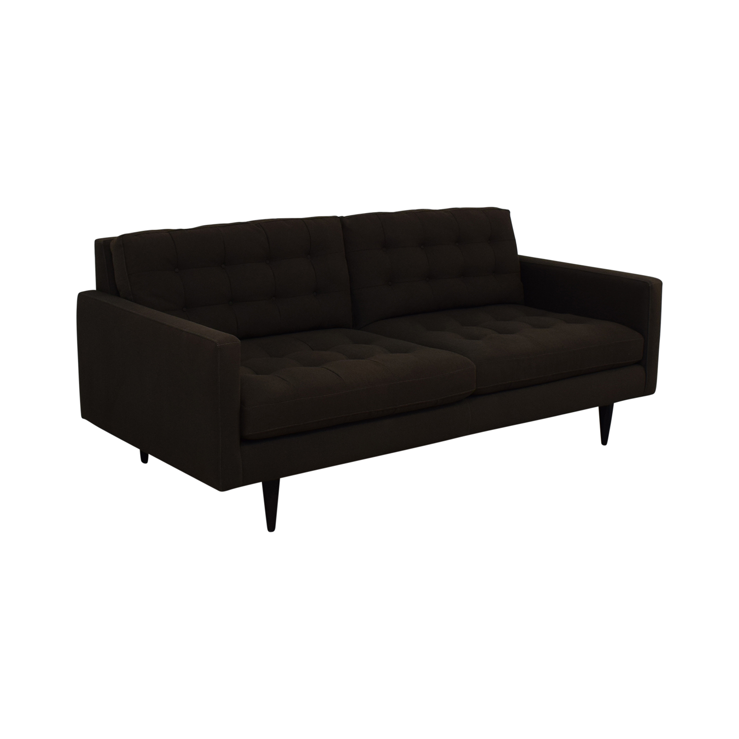 Crate & Barrel Crate & Barrel Petrie Midcentury Sofa nyc