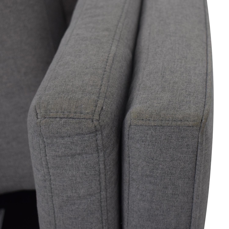Macy's Modern Gray Sofa / Sofas