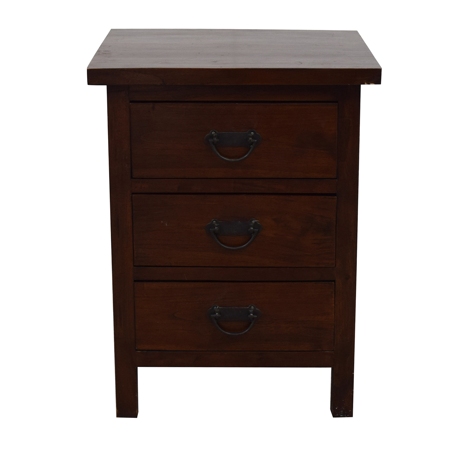 buy Crate & Barrel Nightstand with Drawers Crate & Barrel End Tables