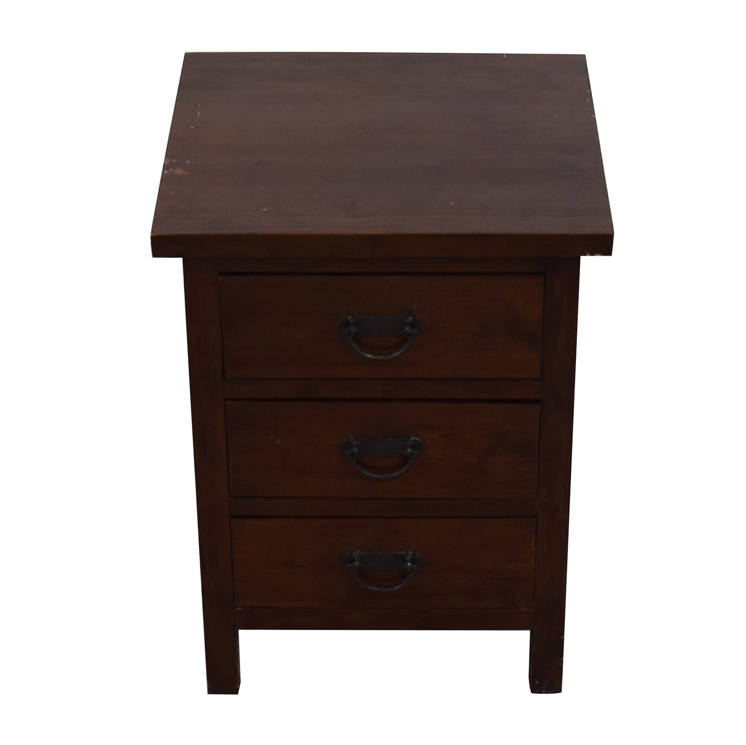 Crate & Barrel Crate & Barrel Nightstand with Drawers dimensions