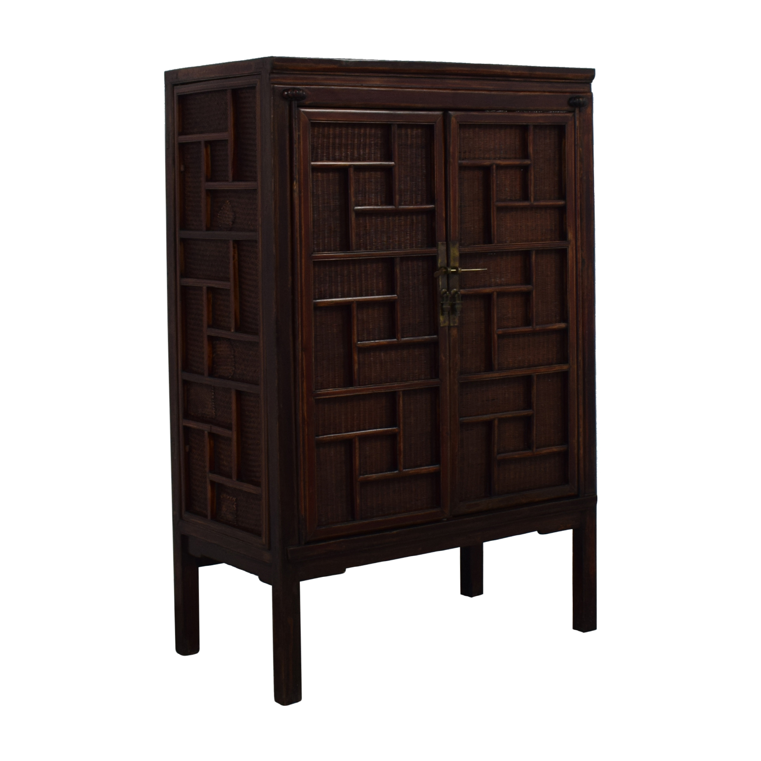 Rustic Chinese Storage Cabinet on sale