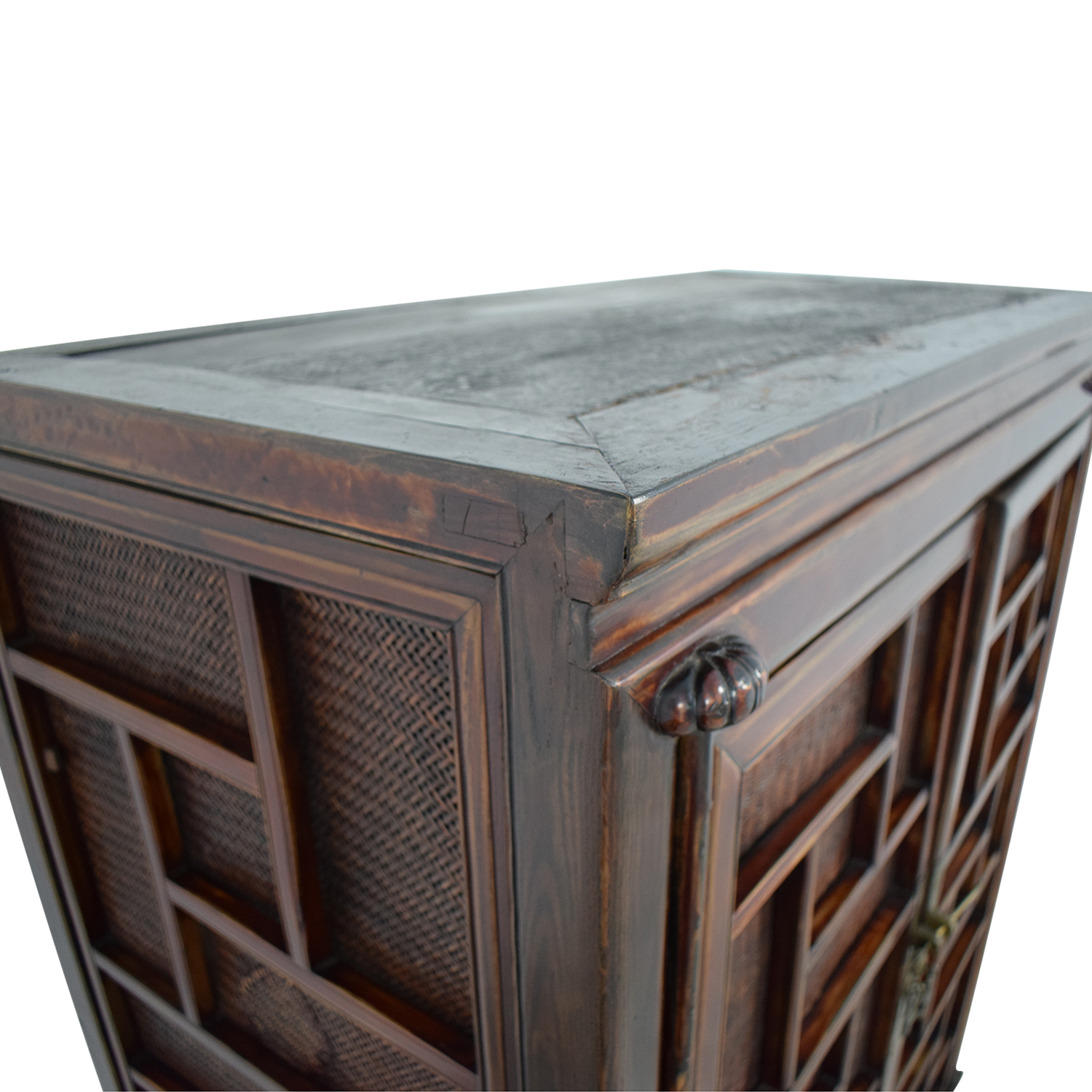 Rustic Chinese Storage Cabinet price