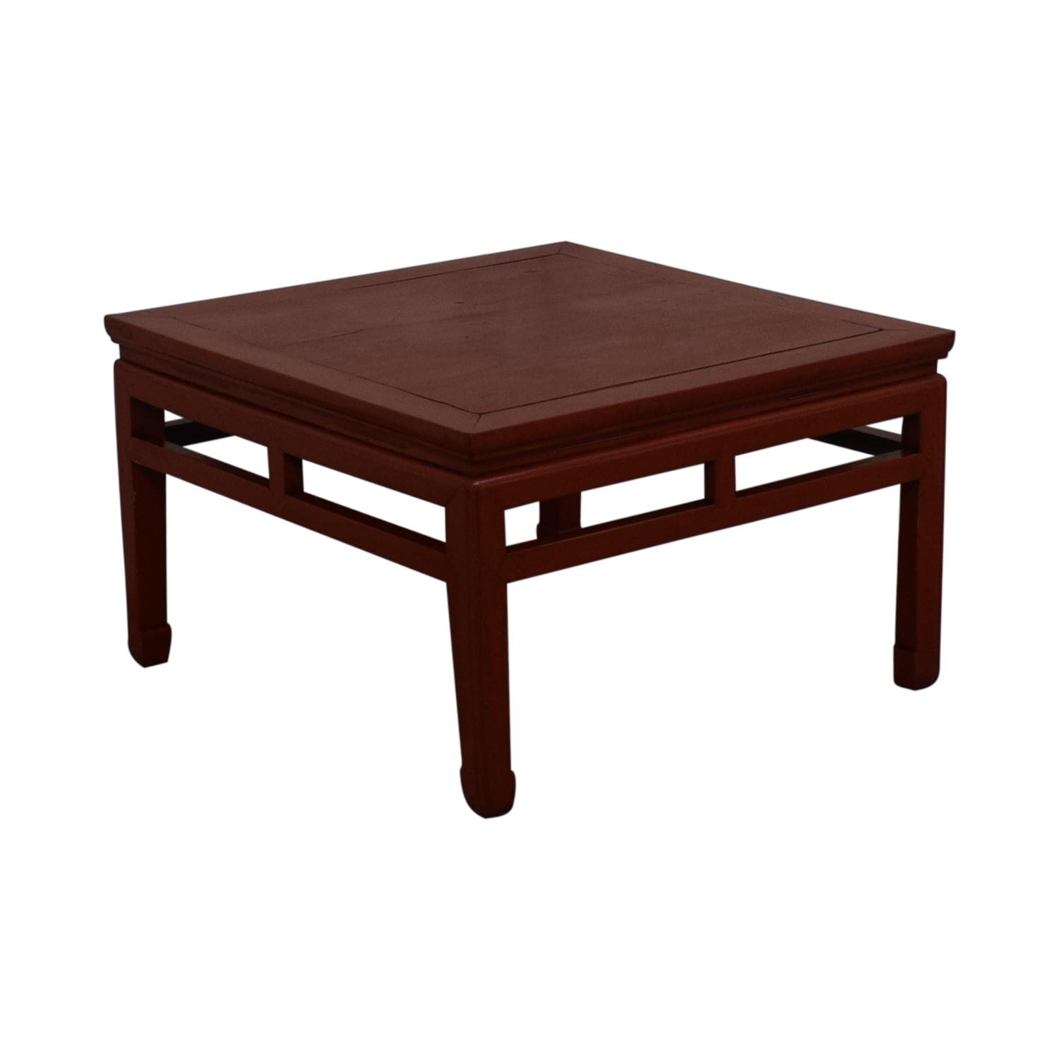 Rustic Red Coffee Table for sale