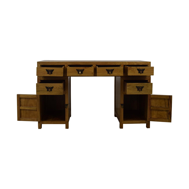 Three Piece Desk discount