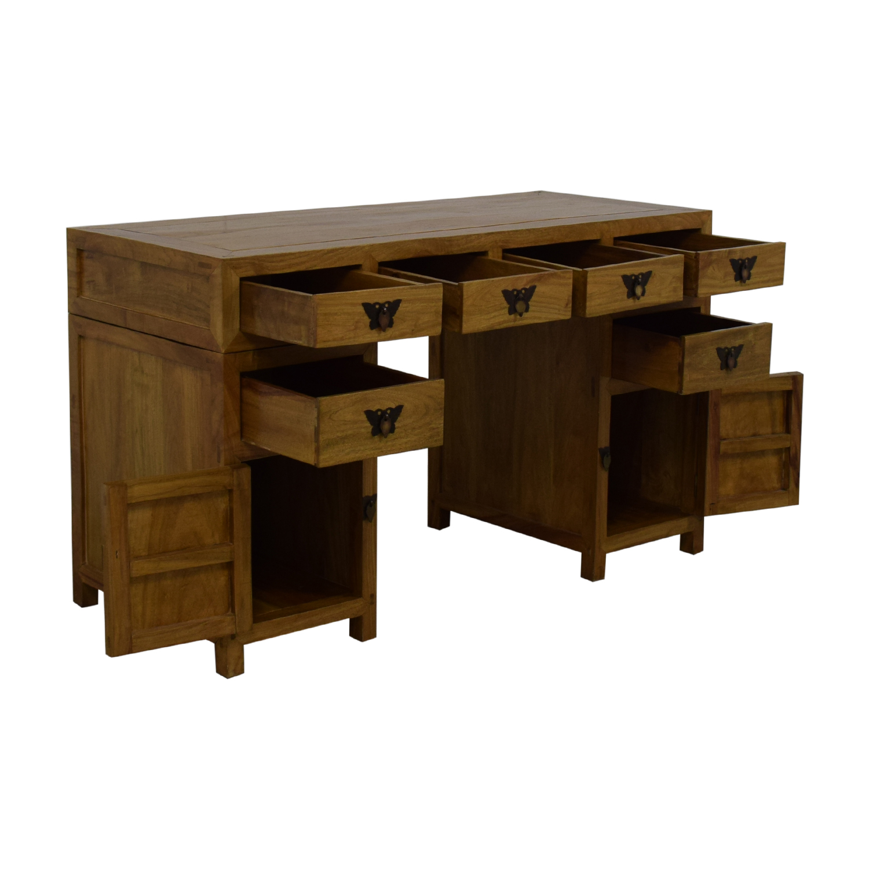 shop Three Piece Desk  Home Office Desks