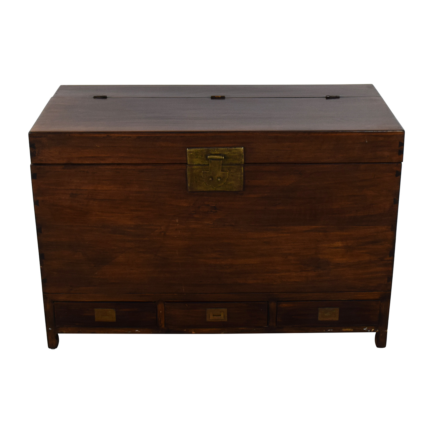 73 Off Decorative Storage Trunk Storage