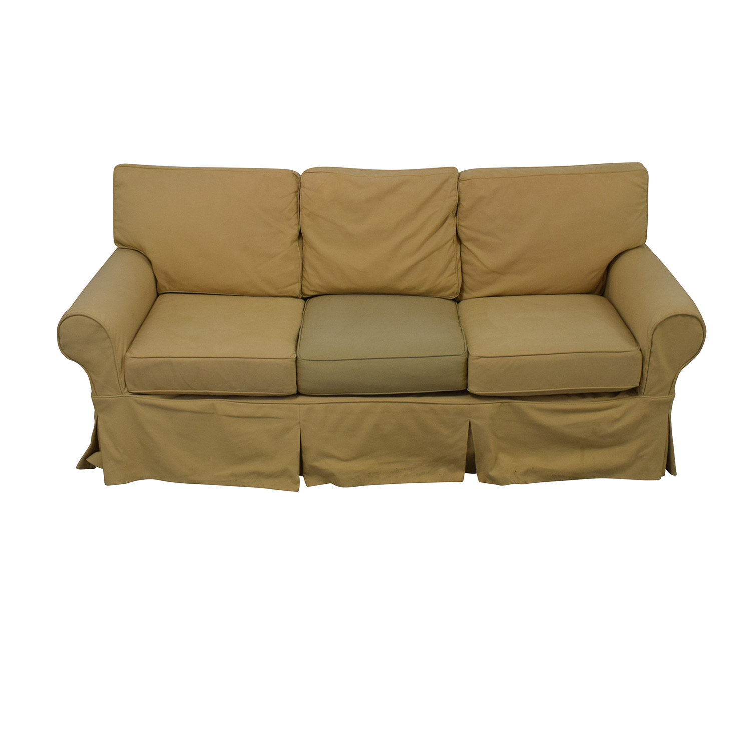 Pottery Barn PB Basic Slipcovered Sofa on sale