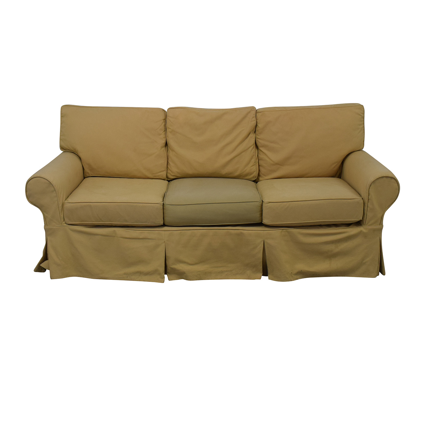 buy PB Basic Slipcovered Sofa Pottery Barn Classic Sofas