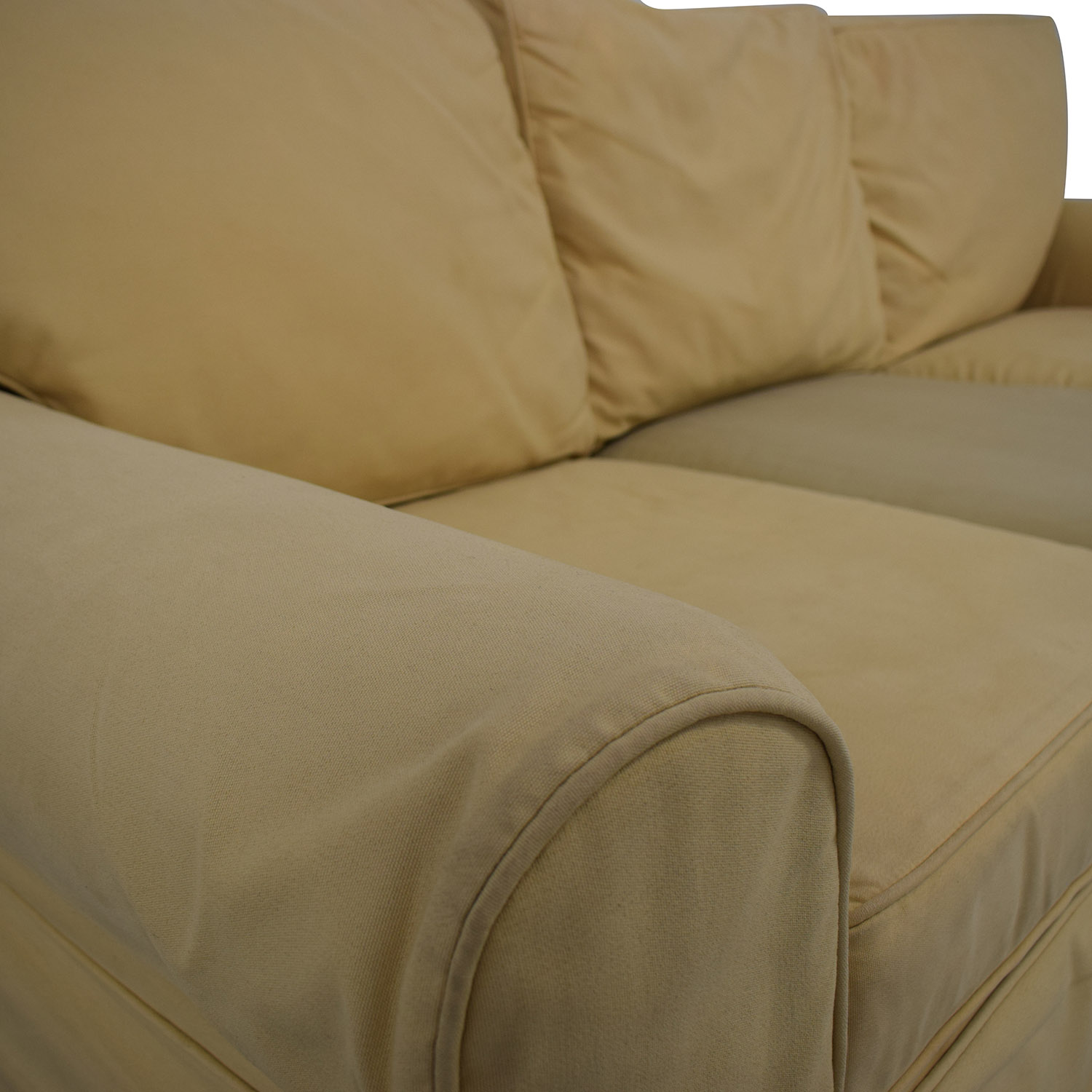 Pottery Barn PB Basic Slipcovered Sofa