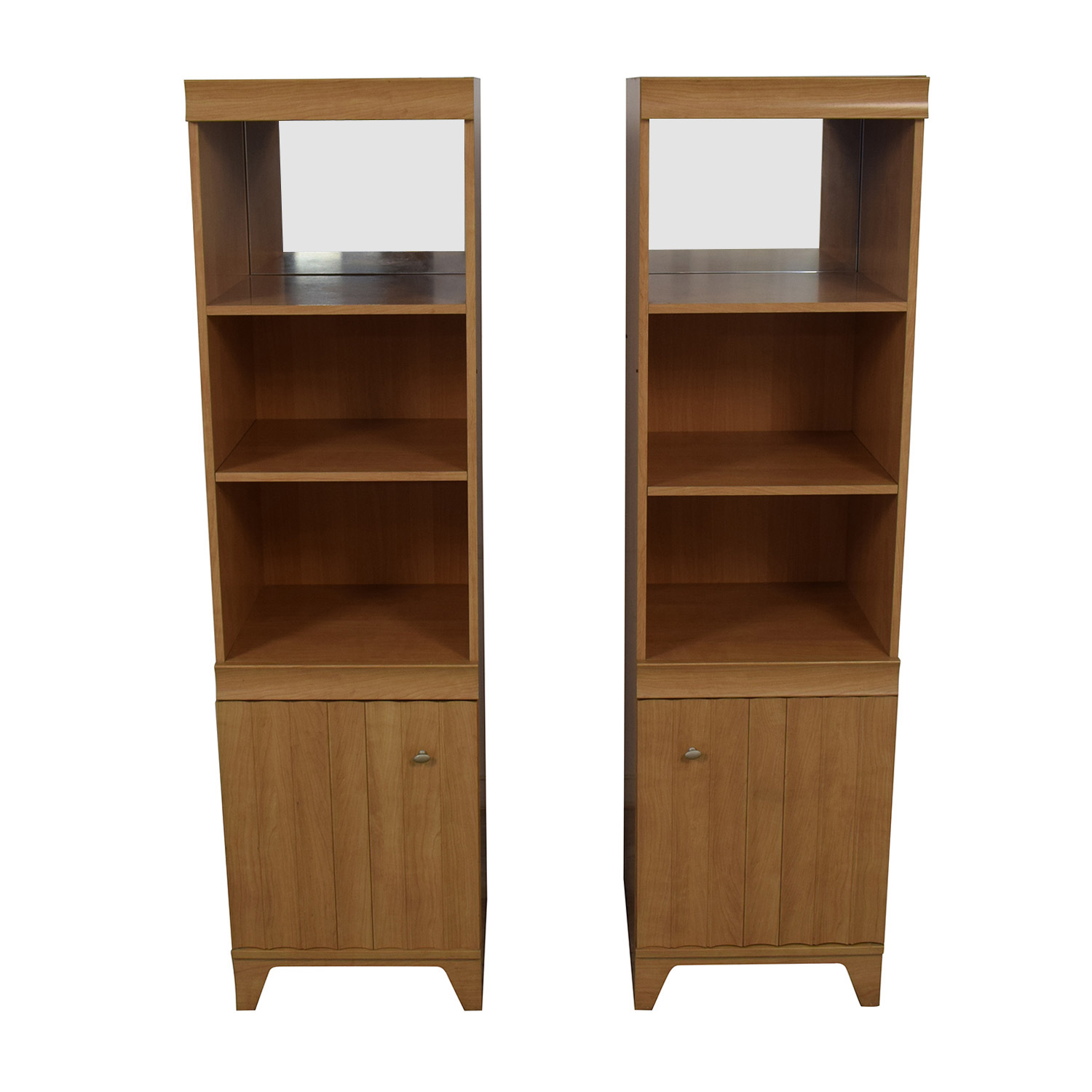 buy Italian Made Mirrored Bookcases