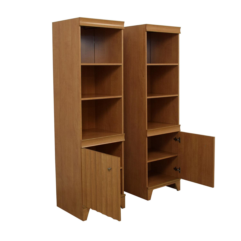 Italian Made Mirrored Bookcases nj